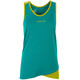 La Sportiva Dihedral Sleeveless Shirt Women yellow/green